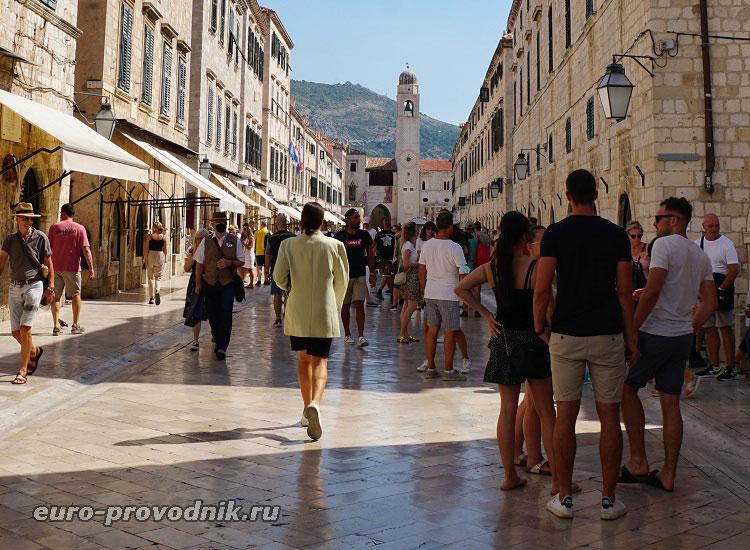 В историческом центре Дубровника