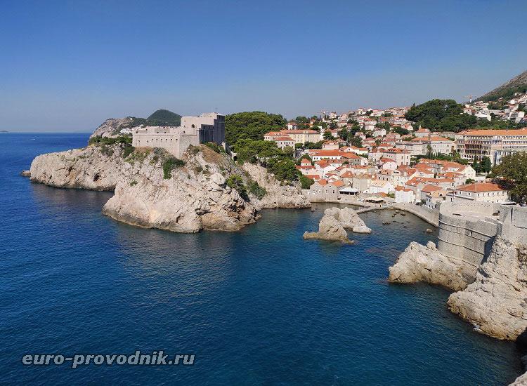 Бухта в Дубровнике