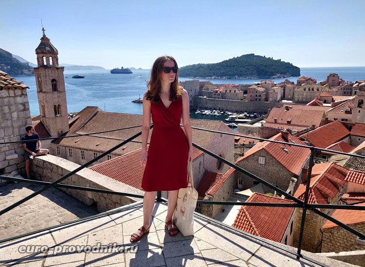 На стене Дубровника
