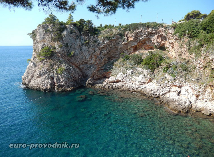 Море в Дубровнике