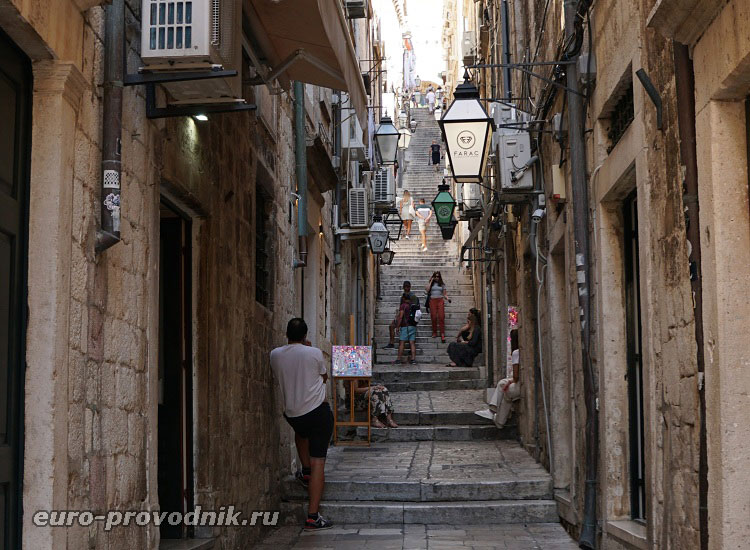 Улочки исторического центра